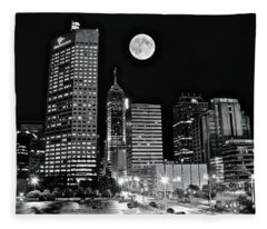 Big Moon Indianapolis 2019 Fleece Blanket