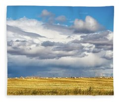 Big Sky Montana Fleece Blanket