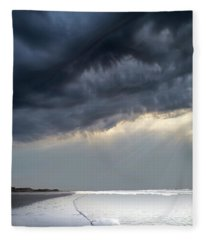Big Sky Wild Dunes Fleece Blanket