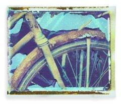 Bike 1 Fleece Blanket