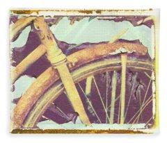 Bike 2 Fleece Blanket