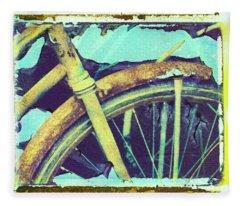 Bike 3 Fleece Blanket
