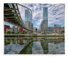 Bilbao 1 Fleece Blanket