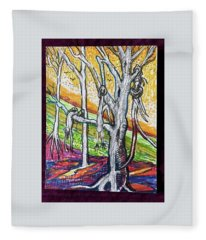 Billie Holidays' Song Strange Fruit On The Poplar Fleece Blanket
