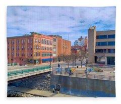 Binghamton Art Fleece Blanket