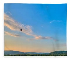 Binghamton Spiedie Festival Air Ballon Launch Fleece Blanket