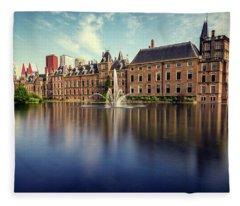 Binnenhof, The Hague Fleece Blanket