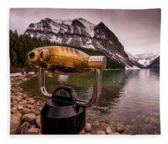 Binoculars Fleece Blanket