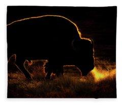 Bison Breath Fleece Blanket