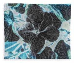 Black Licorice  Fleece Blanket