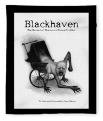Blackhaven The Encounter Stories And Demon Profiles Bookcover, Shirts, And Other Products Fleece Blanket