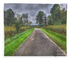 Blacklick Woods Pathway Fleece Blanket