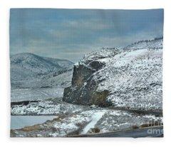 Blind Corner Fleece Blanket