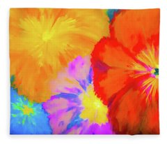 Bloom 2 Fleece Blanket