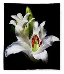Blooming Fleece Blanket
