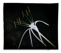 Blooming Poetry 2 Fleece Blanket