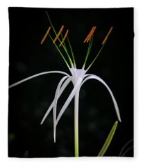 Blooming Poetry 3 Fleece Blanket