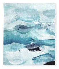 Blue #14 Fleece Blanket