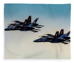 Blue Angels 2 X 2 Fleece Blanket