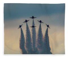 Blue Angels Delta Burst Fleece Blanket