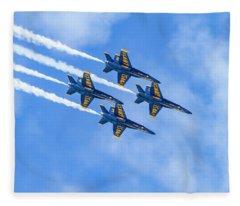 Blue Angels Do Not Blink Fleece Blanket