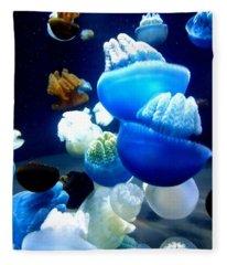 Blue Blubber  Fleece Blanket