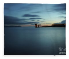 Blue Hour Salthill Fleece Blanket