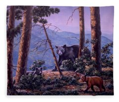 Blue Ridge Bears Fleece Blanket