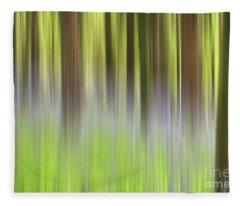 Bluebell Woods Fleece Blanket
