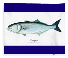 Bluefish Fleece Blanket
