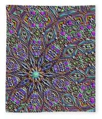 Blurry Glass Fleece Blanket