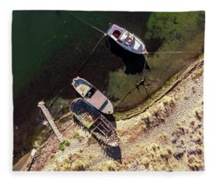 Boats Attached Fleece Blanket