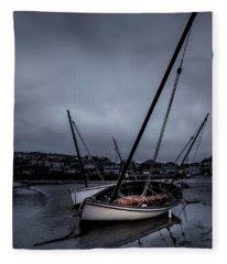 Boats Fleece Blanket