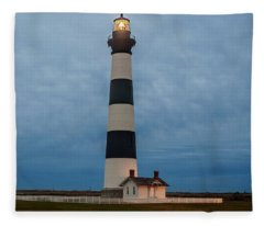 Bodie Island Lighthouse  Fleece Blanket