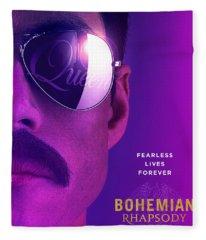 Bohemian Rhapsody Fleece Blanket