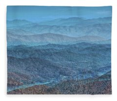 Bold Mountains Fleece Blanket