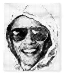 Bomber Suspect Fleece Blanket