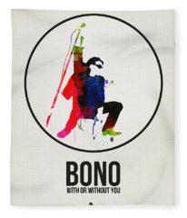 Bono II Fleece Blanket