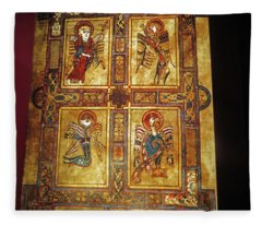 Book Of Kells Fleece Blanket