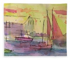 Boothbay 1 Fleece Blanket