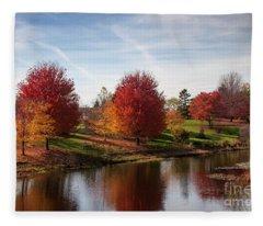 Botanic Gardens Fleece Blanket