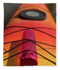 Bottle On A Boat Fleece Blanket