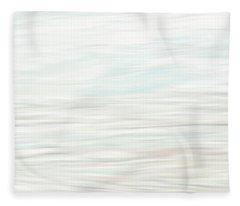 Bottom Center Panel Fleece Blanket