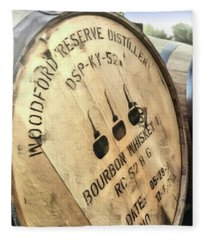 Bourbon Barrel Fleece Blanket
