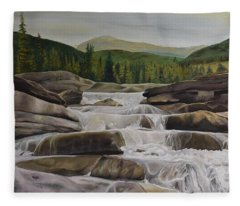 Bragg Creek Fleece Blanket