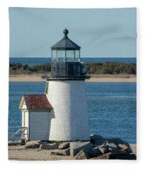 Brant Light House Fleece Blanket