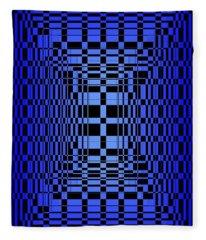 Brave Blue  Fleece Blanket