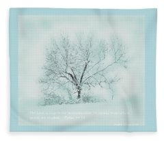 Breath Of Winter Fleece Blanket