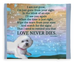 Custom Order Unavailable For Public Purchase Bree Love Never Dies Fleece Blanket