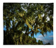Breezy Florida Day Fleece Blanket